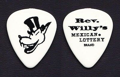 ZZ Top Billy Gibbons Rev Willy's Mexican Lottery Guitar Pick 2010