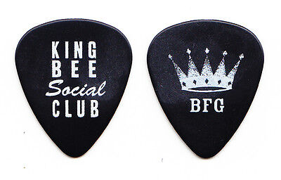 ZZ Top Billy Gibbons King Bee Social Club Guitar Pick 2010