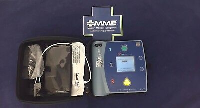 Philips FR2+ AED with Pads, Case, New Battery M3860A, Warranty