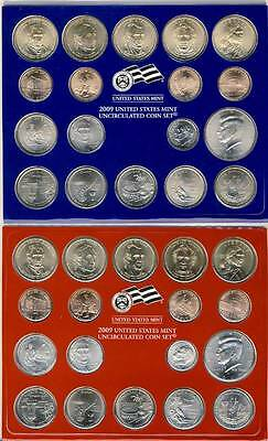 2009 P & D US Mint Uncirculated Coin Set