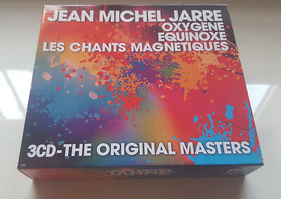 "Jean Michel Jarre The Original Masters"" 3Cd Box / New With Sealed Cds - Dreyfus"