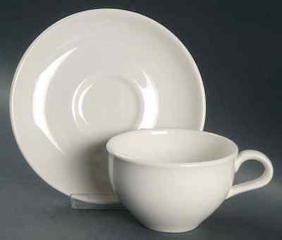 Iroquois CASUAL WHITE Cup & Saucer 6302313