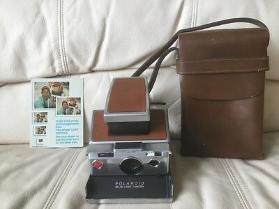 Polaroid SX-70 Instant Camera-Fully Tested&Working-Excellent-Ships Same Day