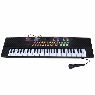 54 Key Music Electronic Keyboard Kid Digital Electric Piano Organ Microphone Mic