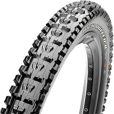 "Maxxis High Roller II Mountain Bike Tyre- 26"" x 2.3""- Folding- 62A - 60A Exo TR"