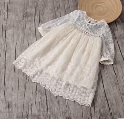 Toddler Boho Long Sleeve Lace Dress