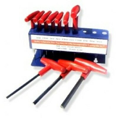 10 Piece T-Handle Sae Hex Key Set With Stand  $9.90
