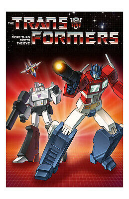The Transformers Poster Photo 11x17 in / 28x43 cm Cartoon