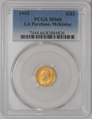 1903 $ Gold McKinley LA Purchase MS66 PCGS