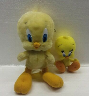 Warner Bros Looney Tunes Tweety Bird Plush Toy & Backpack Bag LOT Preowned