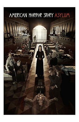 American Horror Story Asylum Poster Photo 11x17 in / 28x43 cm