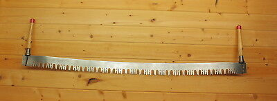 Vintage 5 1/2 ft. Two Man Crosscut Logging Saw with Loop Handles