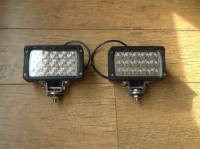 2 X 45w 4050LM LED Work Light Flood Beam Massey John Deere Ford New Holland Case