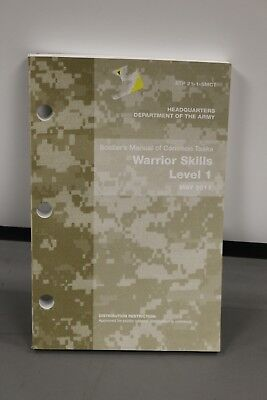 US Army Soldier's of Common Tasks Warrior Skills Level 1 STP 21-1-SMCT