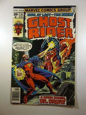 """Ghost Rider #26 """"A Doom Named Dr. Druid!"""" Solid VF Condition!!"""