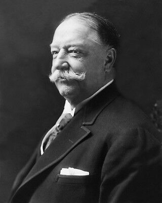27th US President WILLIAM H TAFT Glossy 8x10 Photo Historical Print Poster