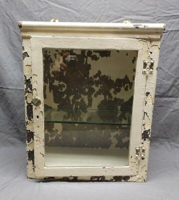 Antique Industrial Medical Surface Mount Display Case Medicine Cabinet 123-18P