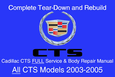 CADILLAC DEVILLE 1998 - 2005 Service Repair Workshop Manual ... on