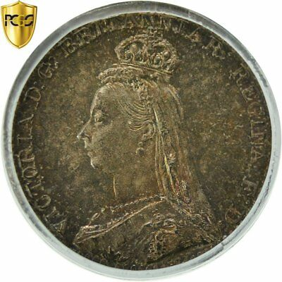 [#481949] Coin, Great Britain, Victoria, Penny, 1891, PCGS, PL66, Silver