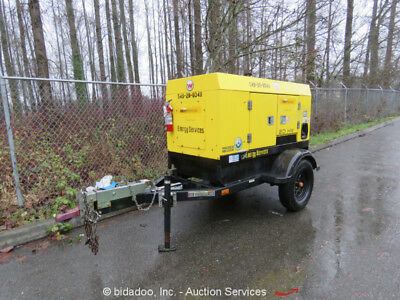 2012 Wacker Neuson G25 20kW Towable Diesel Generator 25kVA Mobile GenSet -Repair