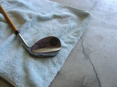 Callaway RIGHT HAND Steel Core Hickory Stick 56* Sand Wedge The Billy Club