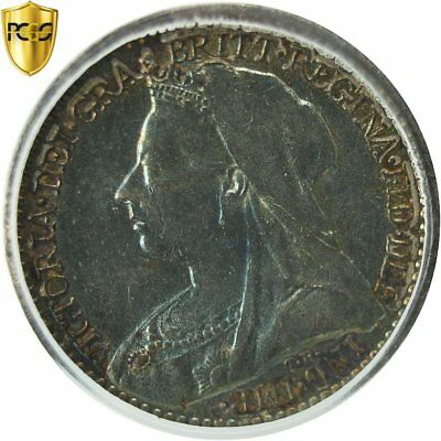 [#481952] Coin, Great Britain, Victoria, Penny, 1895, PCGS, PL66, Silver