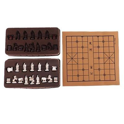 Retro Chinese Traditional Chess XiangQi Board Game for House Family Travel