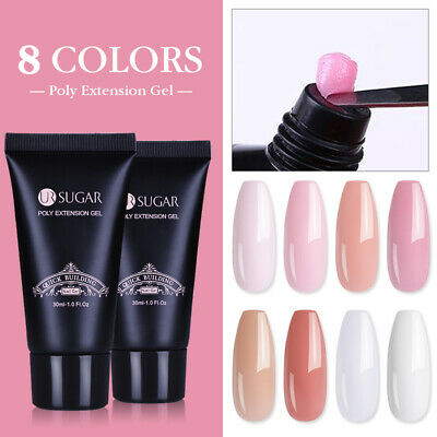 30ml UR SUGAR Nail Poly Quick Builder Gel False Nail Tip Extension Slip Solution