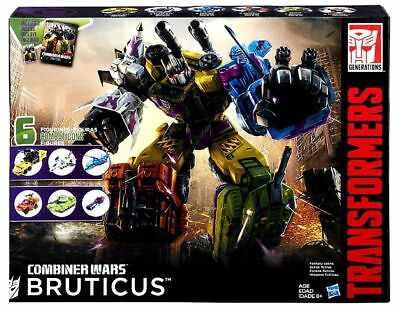 New Hasbro Transformers Combiner Wars G2 Bruticus Box Set B3899