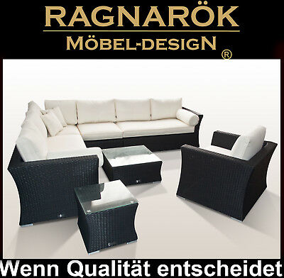 Interesting Polyrattan Gartenmbel Lounge Sessel Sofa Tisch Garten With  Rattan Essecke Garten