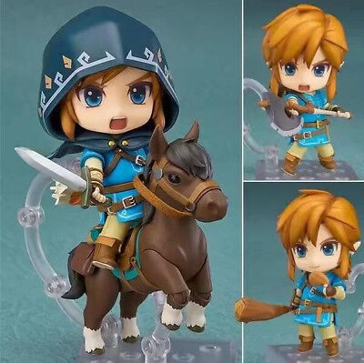 Nendoroid 733 DX The Legend of Zelda Link Breath Of The Wild PVC Figure Toy  WYY