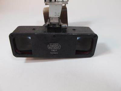 "1930's Leitz Beam-Splitter ""Stereoly"" Very Early Leica Stereo Device W/Bracket!"