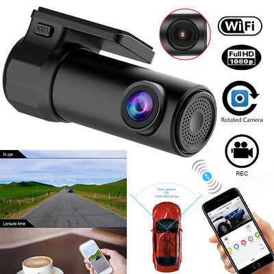 Wifi Auto Kamera DVR Dashcam HD Camcorder Video Unfall Recorder G-Sensor KFZ