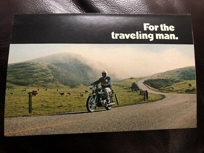 NOS HONDA CB350 K2 Factory Original Sales Brochure
