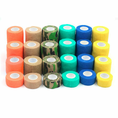 Stretch Tape Bandage Sports Multi-functional Size Hunting Portable Outdoor