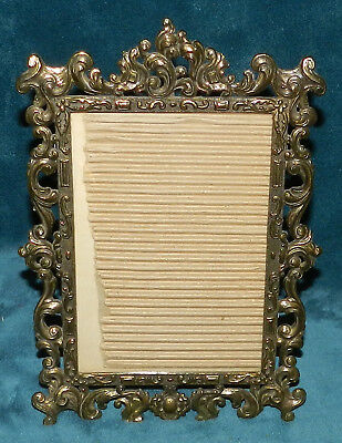 Beautiful Vintage/antique Brass Photo Frame Made In Italy!!