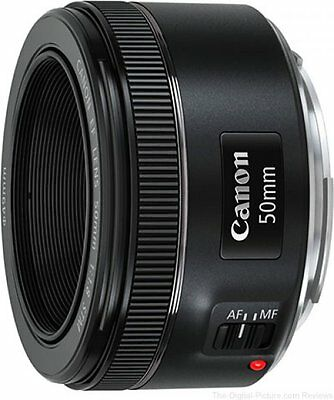 Canon EF 50mm f/1.8 STM Lens Brand New Retail Packaging