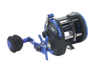 SAMBO STA4026 Overhead Trolling Jigging Game Boat Fishing Reel Snapper Blue