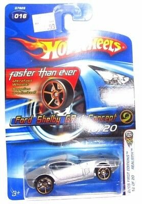 Hot Wheels Ford Shelby GR-1 Concept 2005 First Editions Realistix 16/20