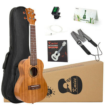 Ukulele Concert 23 Inch Mahogany Ukelele Hawaii Guitar Kit for Beginner Gift