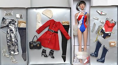 "Tonner 16"" 2015 Diana Prince Basic Doll  AND 3 Diana Princess OUTFITS NEW"