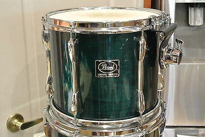 """PEARL EXPORT SERIES 12"""" RACK TOM in TEAL BLUE LACQUER for DRUM SET #M917"""