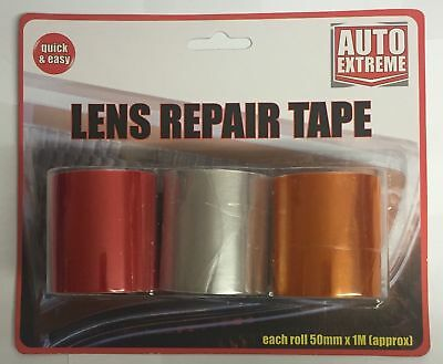 Brake//Fog Light Unit Repair Lens Tape Kit for Mitsubishi Shogun MOT Pass