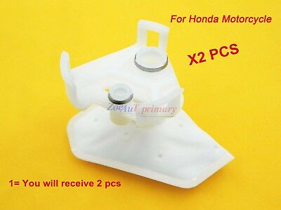 2pc Strainer Fuel Pump Filter For Honda 16700-MFL-013 MSX125 CBR600RR Yamaha R6