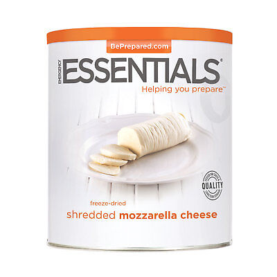 Freeze Dried Cheese, Mozzarella Shredded can