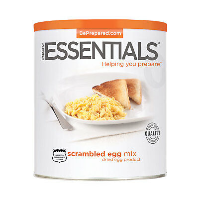 Dehydrated  Egg Mix, Scrambled can