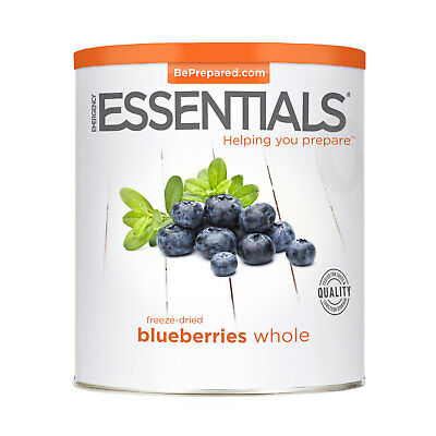 Freeze Dried Blueberries, Whole can