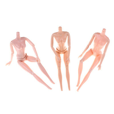14/11 Jointed Movable Nude Naked Doll Body For Barbie Doll 1/6 BJD Doll Body HGU