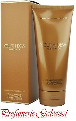 ESTEE LAUDER YOUTH DEW AMBER NUDE TOM FORD COLLECTION SHOWER GEL - 200 ml