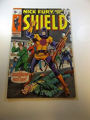 Nick Fury Agent of SHIELD #15 1st appearance of Bullseye FN+ condition